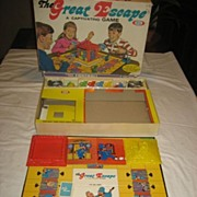 Great Escape 1967 Ideal Vintage Board Game