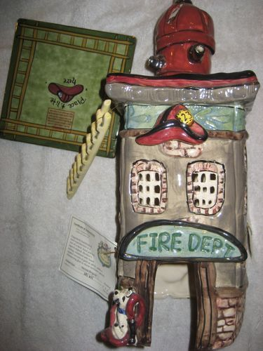 Firehouse Heroes Brigade Porcelain Tea Light