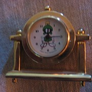 Marvin The Martian Mini Anniversary Clock