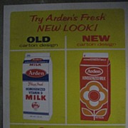 Arden's Fresh New Look  Vintage Poster