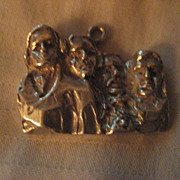 Sterling Silver Mount Rushmore Vintage Charm