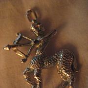 Sagittarius Sterling Silver Charm/Pendant