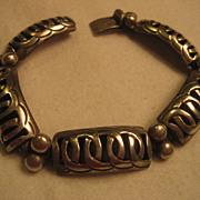 Sterling Silver Link Vintage Bracelet