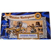 Miniature Masterpieces Covered Wagon Plastic Vintage Model
