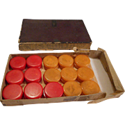 Bakelite Vintage Checkers Game