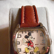 Mickey Mouse Vintage Watch