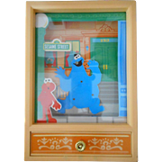 Cookie Monster Dancing Music Box