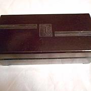 Bakelite Vintage Jewelry Trinket Box