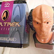Star Tek Ceramic Figural Mug