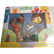 Sesame Street Glass Kurt Alder Ornaments