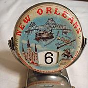 New Orleans Vintage Flip Calendar