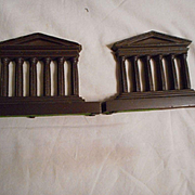 Bradley Hubbard Temple Style Vintage Bookends