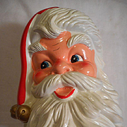 Santa Revolving Musical Bust
