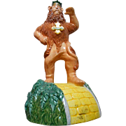 Wizard of Oz Ceramic Lion Music Figurine