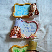 Wizard of Oz Inspirational Plaques