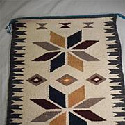 Wool Hand Woven Vintage Navajo Rug