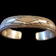 Sterling Silver Navajo Vintage Bracelet