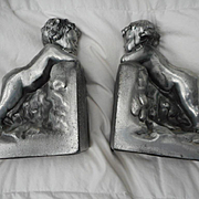 Angel Vintage Heavy Bookends