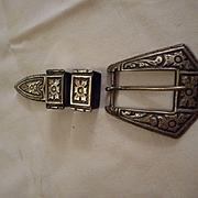 Sterling Silver Vintage Ranger Set