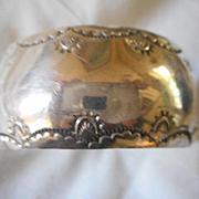 Sterling Silver Vintage Stamped Bracelet