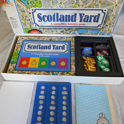 Scotland Yard Vintage Milton Bradley Board Game