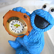 Cookie Monster Mini Desk Clock