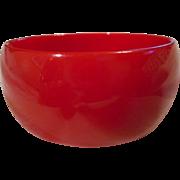 Bakelite Cherry Red Vintage Bracelet