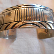 Sterling Silver  Vintage Navajo Bracelet