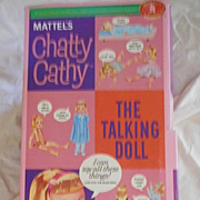 "Chatty Cathy 18"" tall Talking Doll In Box"