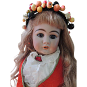 Simon & Halbig 949, 32 IN Beauty! Large Antique German Bisque Doll