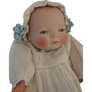 Bye Lo Baby Antique German Bisque Doll 13 IN