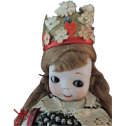 Armand Marseille #241 Googly Toddler, 10 IN, Antique German Doll Character
