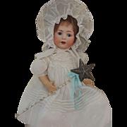 Jutta Cuno, Otto, & Dressel #1914 Antique German Bisque Doll 22 IN, Sleep Eyes