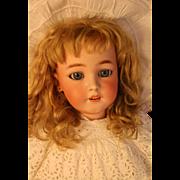 Simon & Halbig 1249 Antique German Bisque Doll 29 IN Beautiful Antique Costume!