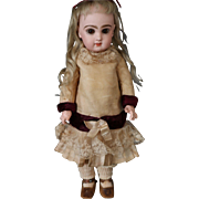 Jumeau Antique French Doll, Size 5  Antique French Bisque