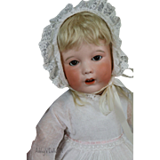 Unis France SFBJ 251 Toddler Doll, 18 IN, Antique French Bisque Doll