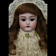 Antique Handwerck #140 Doll, 17 IN, Antique German Bisque Doll