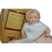 Vintage Effanbee Lambkins Doll, Original Costume and Box, 1930s