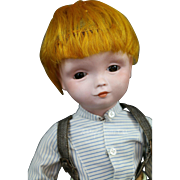 Antique Poulbot SFBJ 239 Paris Doll, 14 IN, Rare French Character Doll Rintintin