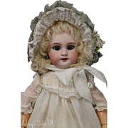 Size 4 DEP Bebe French Market, 15 IN, Jumeau DEP Antique Bisque Doll
