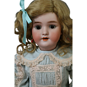 Handwerck 109 Antique German Bisque Doll, 21 IN