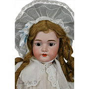 Antique Simon & Halbig 1079 Doll 30 Inches Antique Lace Costume Antique Wig