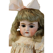 Kammer & Reinhardt #192 Antique Doll, Closed Mouth 16 IN, Antique German Bisque