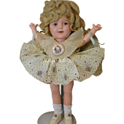Vintage Ideal Shirley Temple Doll with Box, Tagged Costume, 13 IN