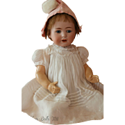 Jutta 1914 Cuno, Otto & Dressel Simon & Halbig, 22 IN, Sleep Eyes Antique Doll