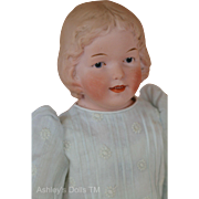 Antique Gebruder Heubach 8669, 14 IN, Antique German Bisque Doll