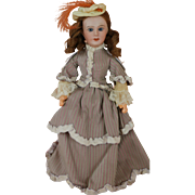 Antique Jumeau Great Ladies Doll, Empress Eugenia, 10 IN, French Bisque Doll
