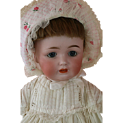 Antique Kestner 260 Toddler Doll, 18 IN, Antique German Bisque Doll, JDK 260