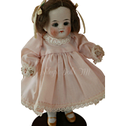 Antique All Bisque German Doll P607, 6.5 IN, Sleep eyes, Antique All Bisque Doll