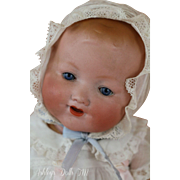 Antique Armand Marseille #332 German Bisque Doll, 15 IN Antique Doll